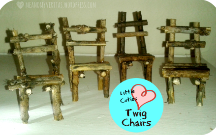 Little Cuties: Twig Chairs