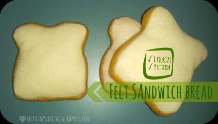 Felt Sandwich Bread: Free Pattern and Tutorial