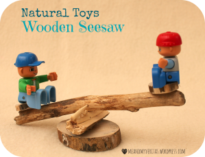 Wooden Seesaw