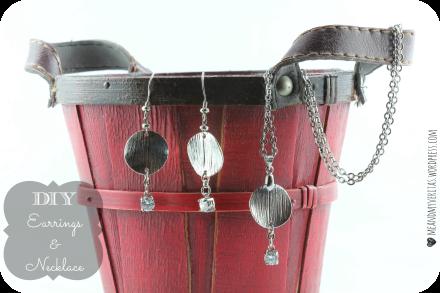 DIY Earrings & Necklace